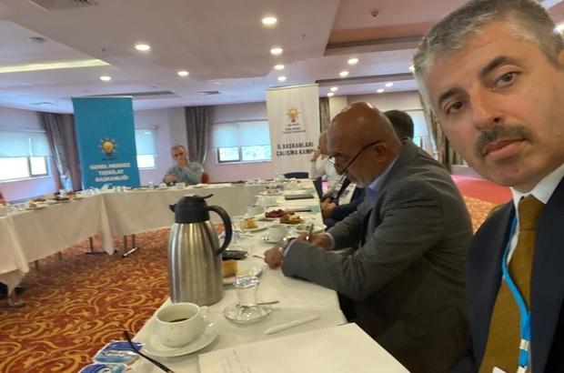 Başkan Çopuroğlu İl Başkanları Kamp Programına katıldı
