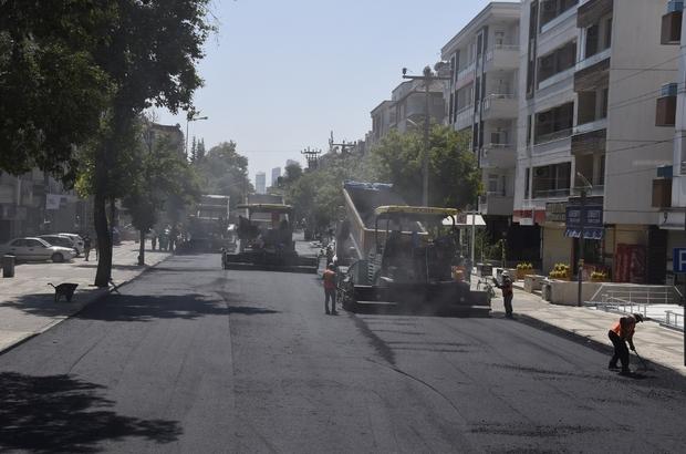 Büyükşehir, Ordu Caddesi'nin asfaltını yeniledi