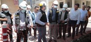 Başkan Kuş doğalgaz çalışmalarını yerinde inceledi
