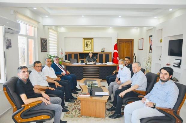Besni'de sınav koordinasyon kurulu toplandı