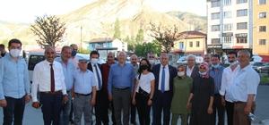 CHP Milletvekilleri Oltu'da
