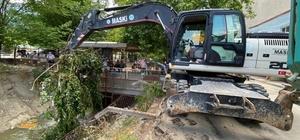 Sulama kanalında temizlikler tamamlandı