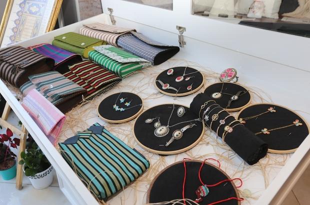 Gasmek el işi ürünleri, online satış sitesiyle Türkiye'nin dört bir yanına ulaşıyor
