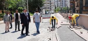 Karaköprü Belediyesi 7 ekiple sahada çalışıyor