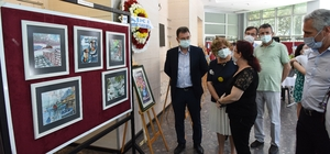 'Pandemi günlükleri' temalı sergi açıldı
