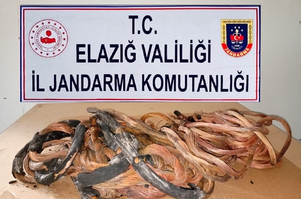 Erzurum'da çaldılar Elazığ'da yakalandılar