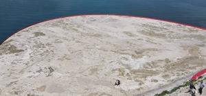 Tekirdağ'da 153 metreküp müsilaj toplandı