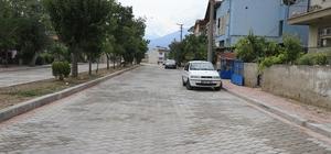 Pamukkale'de alt yapının ardından üstyapılar da tamamlanıyor