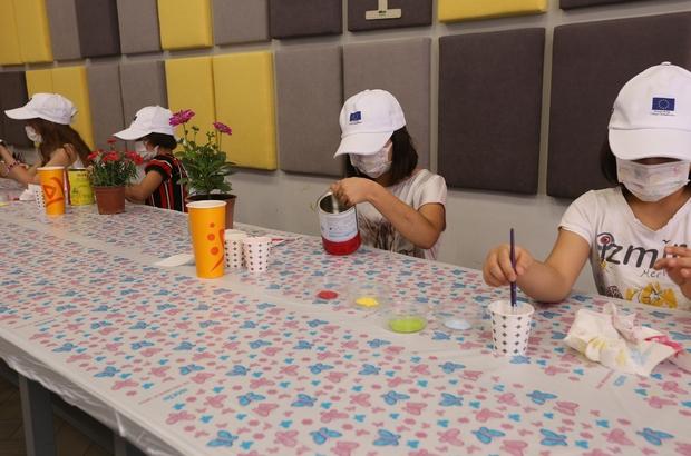 Büyükşehir'den çocuklar için çevre duyarlılığı etkinliği