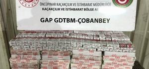 Sınırdan giriş yapan tırın lastiğinden bin 570 paket kaçak çıktı