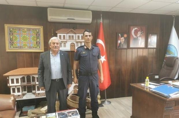 Teğmen Uzun, Osmaneli'ne veda ediyor