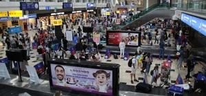 Antalya'ya hava yoluyla iki günde 18 bin Rus turist geldi 22-23 Haziran tarihlerinde 69 uçakla 18 bin 594 Rus turist Antalya'ya geldi