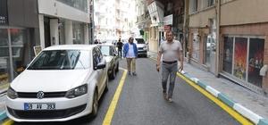 Caddeler birer birer asfaltlanıyor