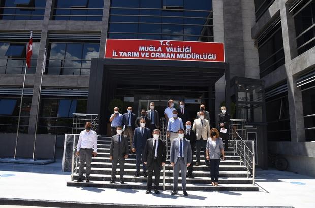 Başarılı çalışmalar imza atan Tarım İl Müdürlüğü, Vali Tavlı'yı ağırladı