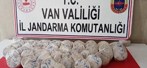 Çaldıran'da 29 kilogram eroin maddesi ele geçirildi