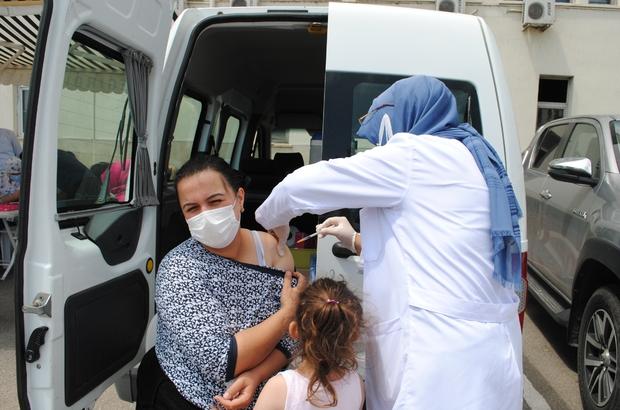 Eğirdir'de aşı seferberliği