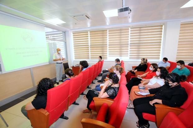 Üniversite de bütçe hazırlık toplantısı yapıldı