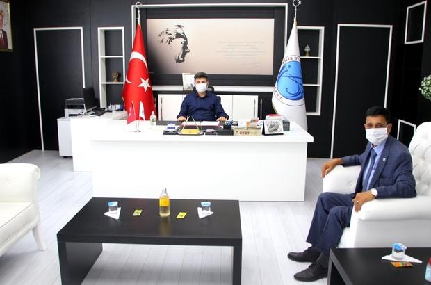 Meteoroloji Müdürü, Rektör Karacoşkun'la bir araya geldi