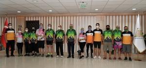 Isparta'da 7 ülke ve 57 şehirden 240 bisikletçi pedal çevirecek