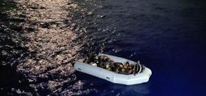 Marmaris'te 16 düzensiz göçmen kurtarıldı Muğla'nın Marmaris açıklarında Yunan Sahil Güvenlik unsurları tarafından geri itilen 16 düzensiz göçmen Türk Sahil Güvenlik ekipleri tarafından kurtarıldı.