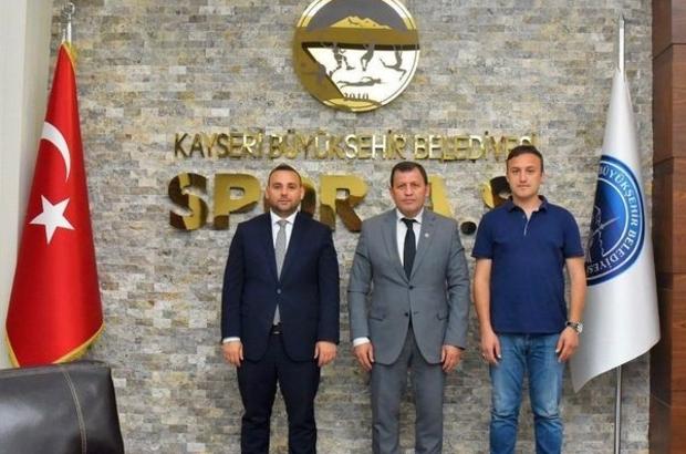Kabakcı ve Koyuncu'dan Spor A.Ş.'ye ziyaret