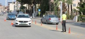 Sarıgöl emniyetinden geniş çaplı asayiş ve trafik uygulaması