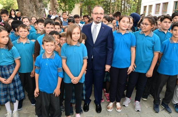 AK Parti Grup Başkanvekili Turan'dan okul müjdesi