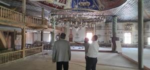 Tarihi Kocaseyfullah Camii restore çalışmaları