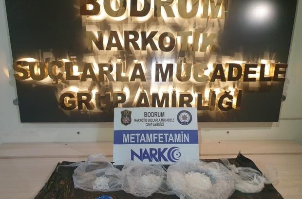 2 Kişi Gözaltına Alındı 125 gram metamfetamin ele geçirildi