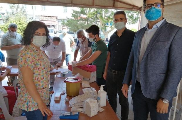 Yeşilhisar'da aşı seferberliği
