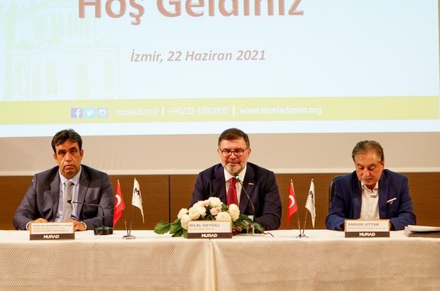 MÜSİAD İzmir'de 'Umman Ticaret Fırsatları' konuşuldu