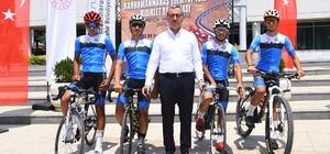 """""""Uluslararası Kahramanmaraş Edebiyat Yolu Bisiklet Yarışı"""" 3-4 Temmuz'da"""