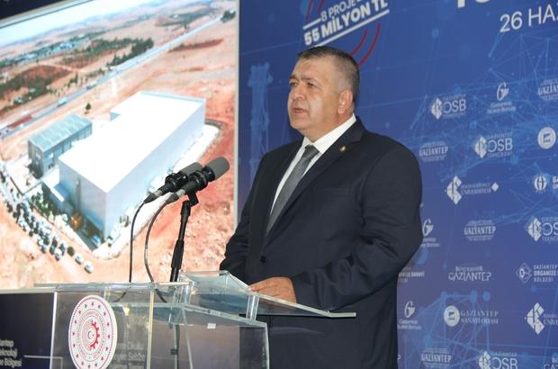 Türkiye'nin ilk ve tek Antep fıstığı lisanslı deposu açıldı