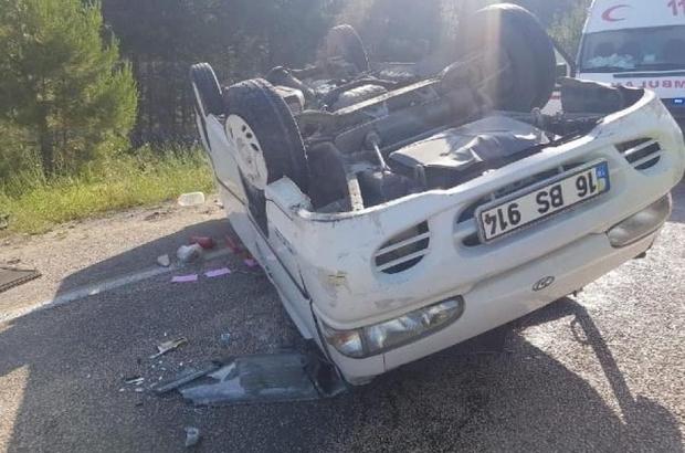 Bursa'da feci kaza: 1 ölü 3 yaralı