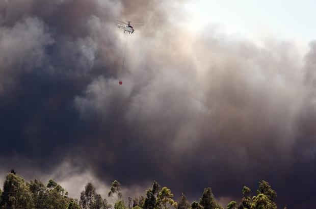"""Dalaman Belediye Başkanı; """"3 hektar yandı, kontrollü yanma devam ediyor"""""""