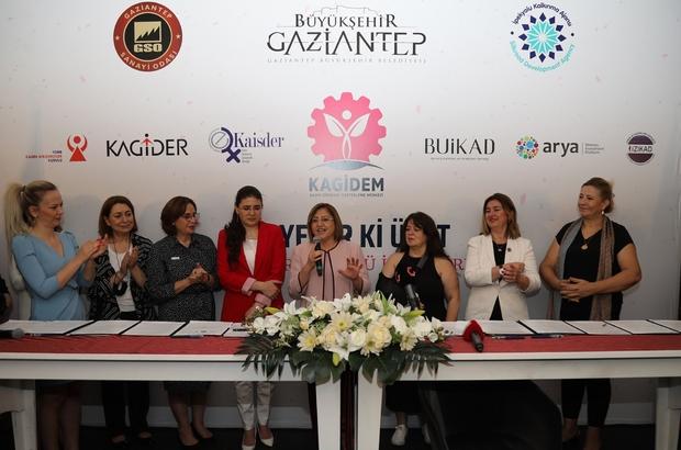 Kadın iş dünyasından KAGİDEM'e tam destek İmzalanan protokollerle KAGİDEM girişimcileri tecrübelerden faydalanacak
