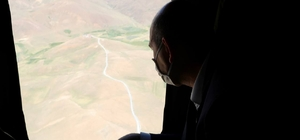 Bakan Soylu İran sınırında