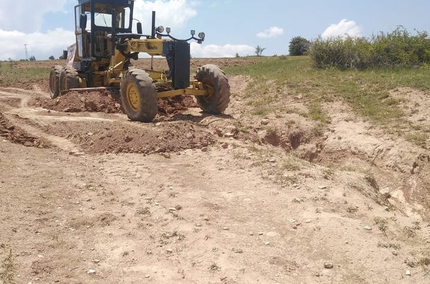 35 Köyde arazi yolu açma çalışmaları başlatıldı Sivas Şarkışla Ziraat Ziraat Odası çiftçilerden gelen talep doğrultusunda 35 köyde arazi yolu açma çalışması başlattı