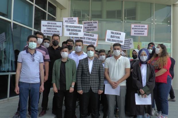 """YKS'ye giren gençlerden Kılıçdaroğlu'na 1 TL'lik tazminat davası Davacı Öğrencilerden Yusuf Şimşek: """"Kılıçdaroğlu bize ve ailelerimize büyük bir özür borçlu"""""""