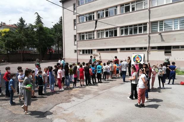 Kayseri'de Okçular GSB okullarında yetişecek