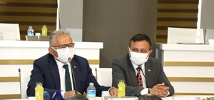 """ERÜ'de """"Ahi Evran Etkinlikleri"""" İstişare Toplantısı düzenlendi"""