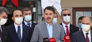 """Bakan Kurum: """"Amacımız, Marmara'yı ve Türkiye'yi koruyacak adımları kararlı bir şekilde atmak"""""""