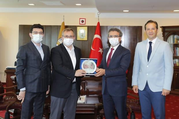 Başsavcı Karabacak, Rektör Tabakoğlu'na veda ziyaretinde bulundu