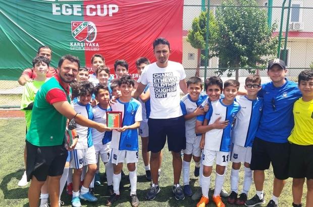 Yunusemre Belediyespor Ege Cup'ta şampiyon oldu