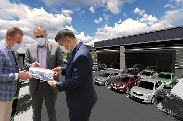 Milletvekili Arvas'tan 'Galericiler Sitesi' müjdesi Erciş'e 50 milyonluk dev yatırımla 146 yeni iş yeri