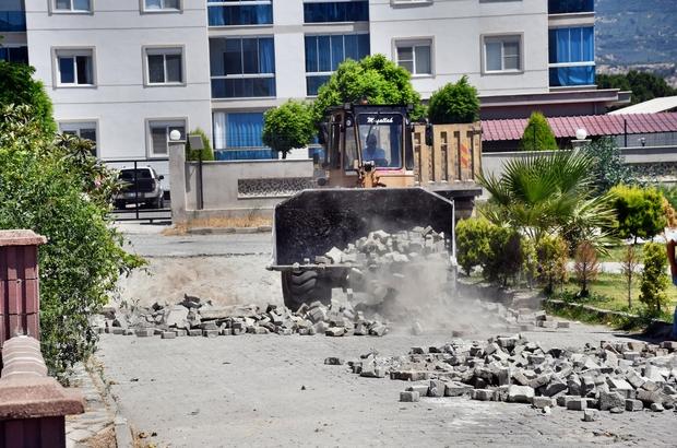 Söke Belediyesi'nin yol yenileme çalışmaları hız kesmiyor
