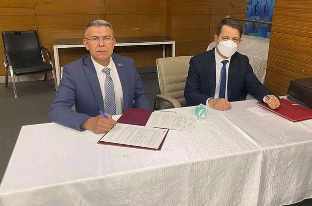 Başkan Güler yeni spor tesisleri için protokol imzaladı