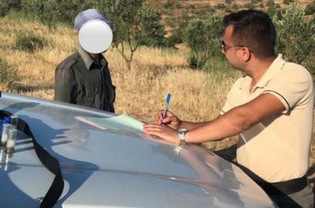 Aydın'da kaçak avcılara geçit verilmiyor Aydın'da kaçak avlanan 1 kişi DMKP ekiplerine yakalandı