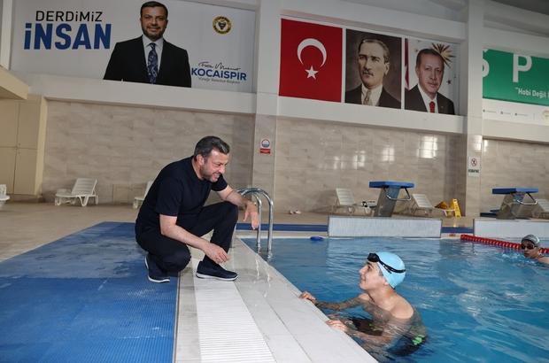Ertuğrul Gazi kapalı yüzme havuzu 1 Temmuz'da açılıyor
