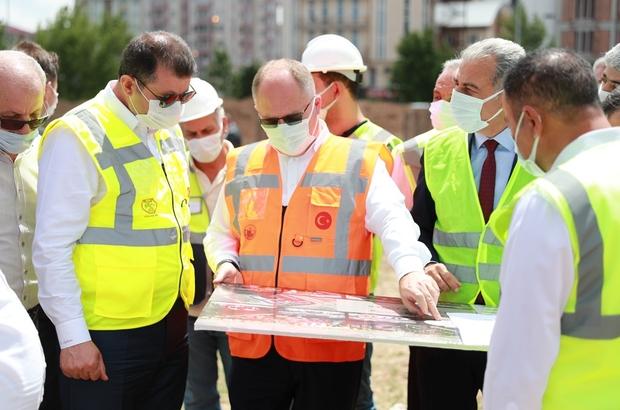 200 milyon maliyetli 8  ayrı proje hayata geçiriliyor Sivas Belediyesinin projelendirdiği 200 milyon maliyetli 8 ayrı proje çalışmaları tüm hızıyla devam ediyor